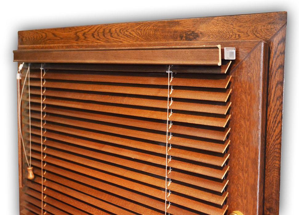 Żaluzje poziome drewniane 25mm-faktor-bydgoszcz