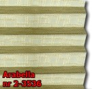 Arabella 02 - kolorystyka materiału grupy 2 żaluzji plisowanej