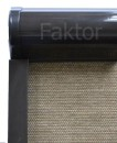 Brąz -  barwa kasety RTK roletki aluminiowej