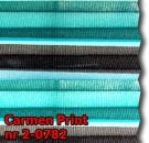 Carmen print 02 - kolorystyka materiału grupy 2 żaluzji plisowanej