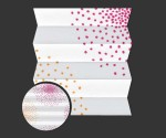 Dots 692 - kolorystyka materiału grupy 2 żaluzji plisowanej