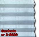 Gardenia 01 - kolorystyka materiału grupy 3 żaluzji plisowanej