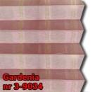 Gardenia 02 - wzór tkaniny z grupy 3  plisy