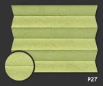 Kamari 27 - kolor materiału grupy 0 żaluzji plisowanej