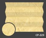 Kamari Pearl 223 - kolorystyka materiału grupy 1 żaluzji plisowanej