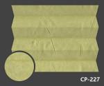 Kamari Pearl 227 - kolorystyka materiału grupy 1 żaluzji plisowanej