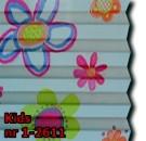 Kids 01 - kolorystyka materiału grupy 1 żaluzji plisowanej
