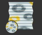 Loara 1462 - kolorystyka materiału grupy 2 żaluzji plisowanej