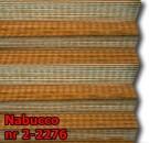Nabucco 03 - kolorystyka materiału grupy 2 żaluzji plisowanej