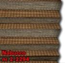 Nabucco 05 - kolorystyka materiału grupy 2 żaluzji plisowanej