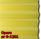 Opera 05 - kolorystyka materiału grupy 0 żaluzji plisowanej