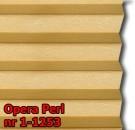 Opera perl 09 - kolor materiału grupy 1 żaluzji plisowanej