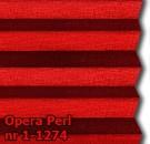 Opera perl 14 - wzór tkaniny z grupy 1 plisy