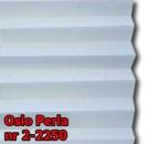 Oslo perla 01 - wzór tkaniny z grupy 2  plisy