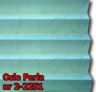 Oslo perla 02 - kolorystyka materiału grupy 2 żaluzji plisowanej