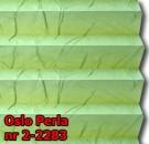 Oslo perla 04 - kolorystyka materiału grupy 2 żaluzji plisowanej