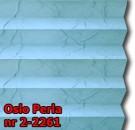 Oslo perla 06 - kolorystyka materiału grupy 2 żaluzji plisowanej