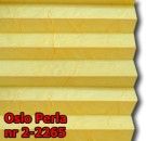 Oslo perla 07 - wzór koloru materiału z grupy 2 plisy