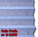 Oslo perla 08 - kolorystyka materiału grupy 2 żaluzji plisowanej