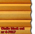 Otello blackout 04 - wzór koloru materiału z grupy 4 plisy
