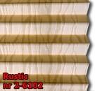 Rustic 03 - kolorystyka materiału grupy 2 żaluzji plisowanej