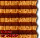 Rustic 05 - kolorystyka materiału grupy 2 żaluzji plisowanej