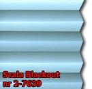 Scala blackout 01 - wzór tkaniny z grupy 2  plisy