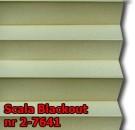 Scala blackout 06 - kolorystyka materiału grupy 2 żaluzji plisowanej