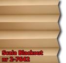 Scala blackout 09 - wzór tkaniny z grupy 2  plisy