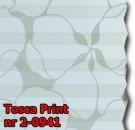 Tosca print 01 - kolorystyka materiału grupy 2 żaluzji plisowanej