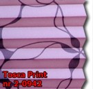 Tosca print 02 - wzór koloru materiału z grupy 2 plisy