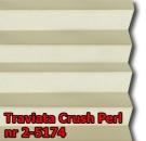 Traviata crush perl 01 - kolorystyka materiału grupy 2 żaluzji plisowanej