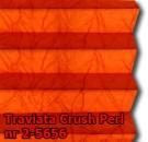 Traviata crush perl 02 - wzór tkaniny z grupy 2  plisy