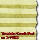 Traviata crush perl 05 - kolorystyka materiału grupy 2 żaluzji plisowanej