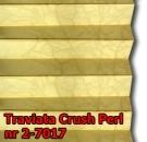 Traviata crush perl 07 - kolorystyka materiału grupy 2 żaluzji plisowanej