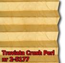 Traviata crush perl 09 - kolorystyka materiału grupy 2 żaluzji plisowanej