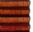 Traviata crush perl 10 - wzór tkaniny z grupy 2  plisy