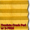 Traviata crush perl 11 - kolorystyka materiału grupy 2 żaluzji plisowanej
