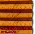 Traviata crush perl 12 - wzór koloru materiału z grupy 2 plisy