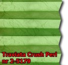 Traviata crush perl 17 - kolorystyka materiału grupy 2 żaluzji plisowanej