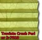 Traviata crush perl 19 - kolorystyka materiału grupy 2 żaluzji plisowanej