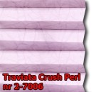 Traviata crush perl 22 - wzór tkaniny z grupy 2  plisy