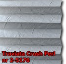 Traviata crush perl 24 - wzór koloru materiału z grupy 2 plisy