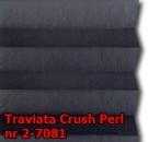 Traviata crush perl 26 - wzór tkaniny z grupy 2  plisy