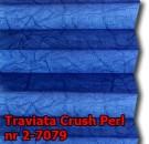 Traviata crush perl 29 - kolorystyka materiału grupy 2 żaluzji plisowanej