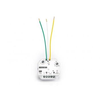 Mikroodbiornik TYXIA 4811 - sterowanie oświetleniem, pozwala na dodanie do wyłącznika przewodowego w obwodzie oświetlenia nowego punktu sterowania bezprzewodowego- sprzedaż,  montaż, serwis Faktor Bydgoszcz