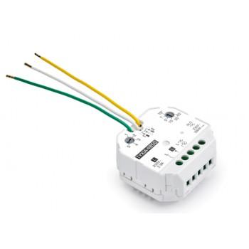Mikroodbiornik TYXIA 4850 - sterowanie obwodu oświetlenia za pomocą jednego lub kilku nadajników radiowych lub przewodowych - sprzedaż,  montaż, serwis Faktor Bydgoszcz