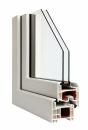 Okna Veka - okleina w kolorze białym