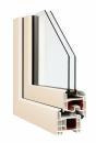 Okna Veka okleina w kolorze kremowobiałym