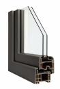 Okna Veka okleina w kolorze platynowokwarcowym